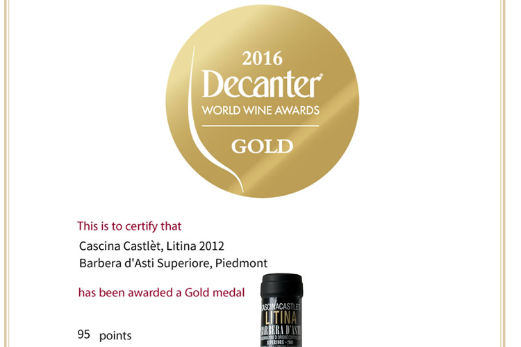 Decanter - Litina 2012.