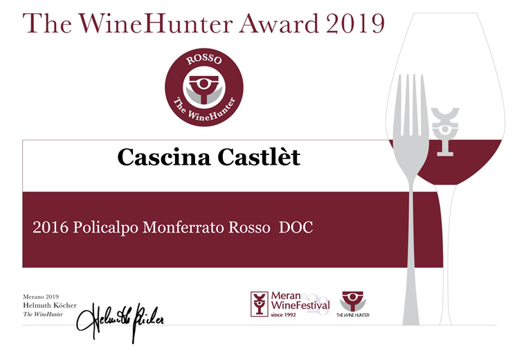 The WineHunter Award 2019.
