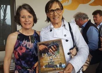 """La storia di Mariuccia Borio nel libro """"Labor of love. Wine family of Piemonte"""" dell'americana Suzanne Hoffman."""